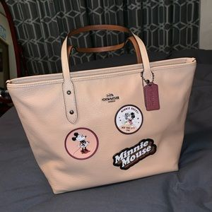 Coach Disney Tan Tote Bag